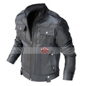 Butterfly On Wheel Pierce Brosnan (Tom Ryan) Bomber Leather Jacket