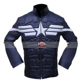 Captain America 2 Chris Evans Winter Soldier Cosplay Costume