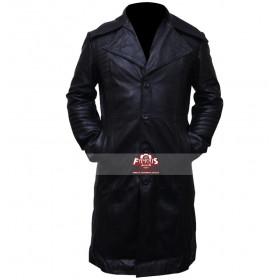 Carlito's Way Carlito Brigante Black Trench Leather Coat