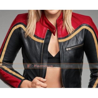 Chloe Grace Moretz Biker Leather Jacket