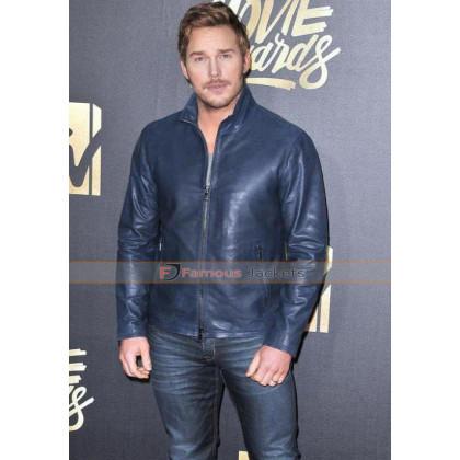 Chris Pratt MTV 2016 Movie Award Leather Jacket