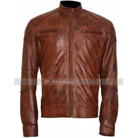 Thorn Damien Brown Leather Jacket
