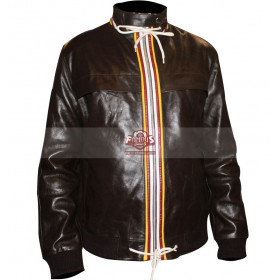 David Beckham Brown Bomber Jacket At April Cipraini