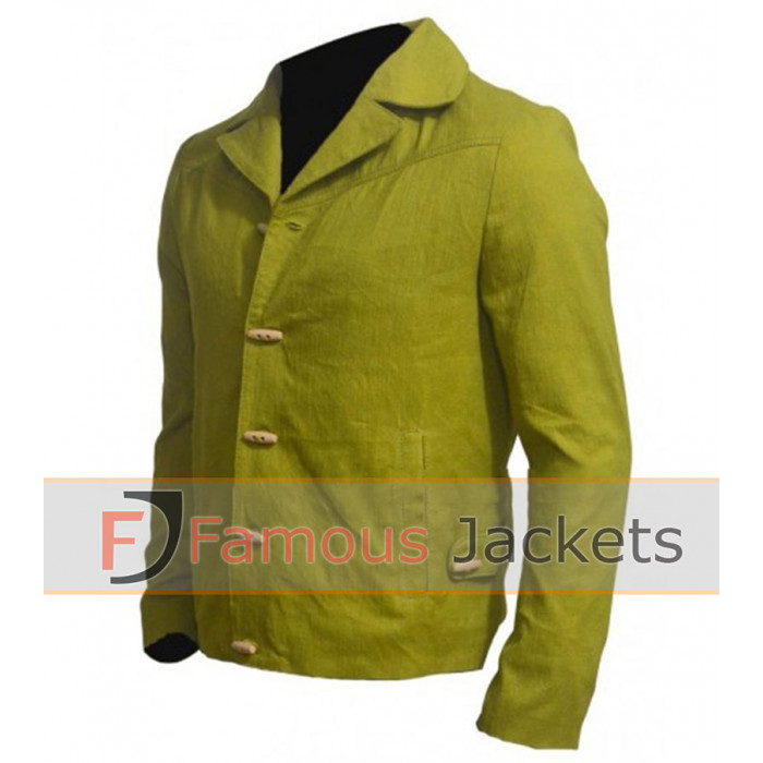 Unchained Jamie Foxx Green Jacket