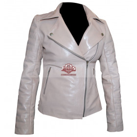 Dr Who The Girl Who Waited (Amy Pond) White Jacket