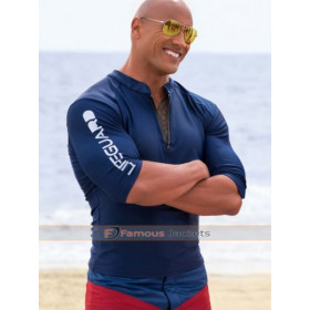 Mitch Buchannon Baywatch Blue Jacket