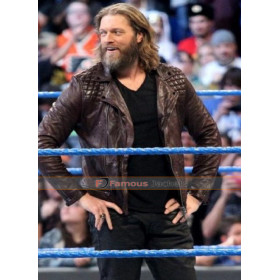 Edge Returns Wrestler Leather Jacket