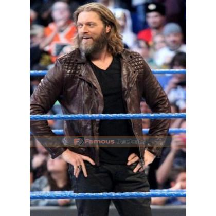 Edge Returns Wrestler Leather Jacket