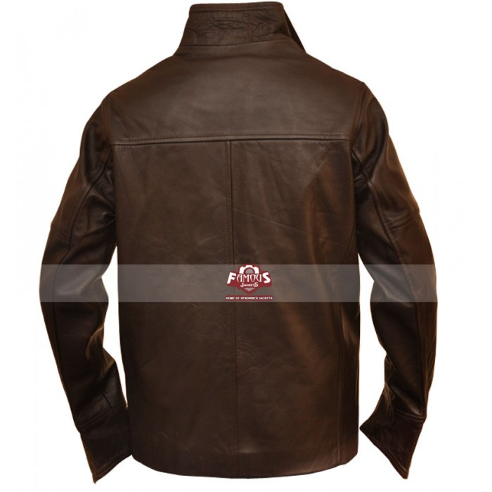 John Travolta From Paris With Love Leather Jacket