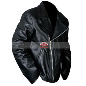 Ghost Rider Nicolas Cage Johnny Blaze Black Motorcycle Jacket
