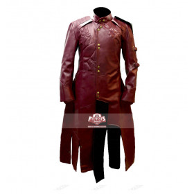 Starlord Halloween Maroon Color Latest Design Leather Costume