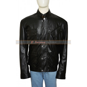 Blitz Tom Brant Jason Statham Movie Leather Jacket