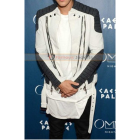 Justin Bieber Omnia Nightclub Leather Jacket