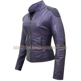 Kick Ass 2 Hit Girl Leather Jacket Costume