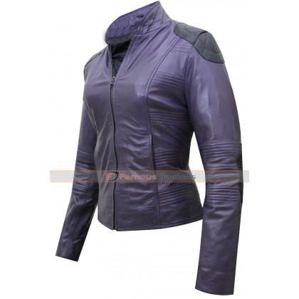 Kick Ass 2 Hit Girl Leather Jacket Costume