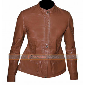 Law & Order Special Victims Unit Olivia Benson Brown Jacket