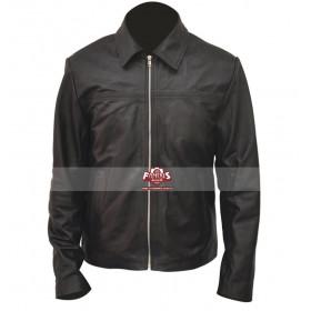 Daniel Craig Layer Cake Black Leather Jacket