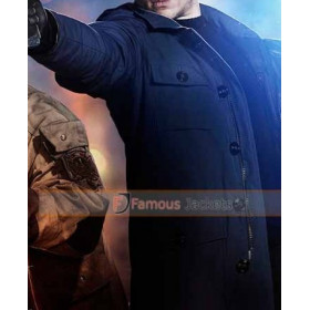 Legends Of Tomorrow Captain Cold (Wentworth Miller) Hooded Coat Jacket