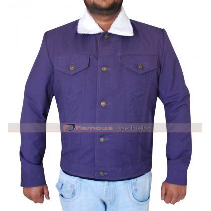 Longest Ride Scott Eastwood (Luke Collins) Fur Collar Jacket