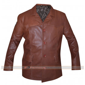 Longmire Henry Standing Bear Brown Leather Jacket