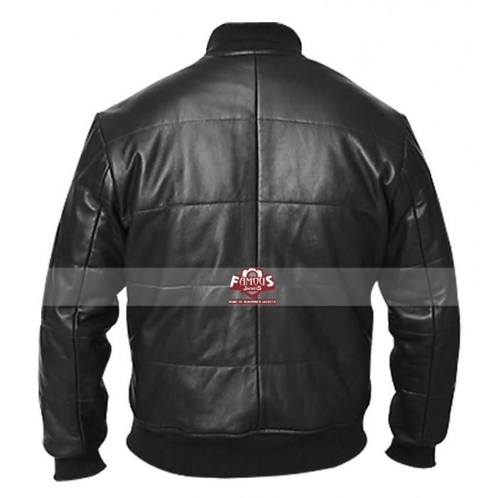 Vintage Black Leather Jacket 111