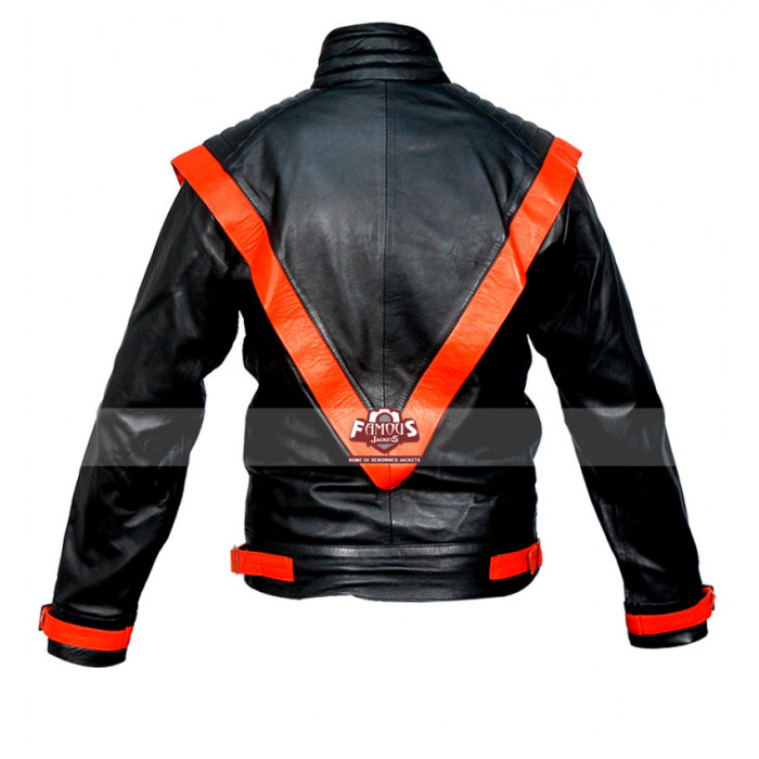 Michael Jackson Thriller Jacket Pattern Michael Jackson Thriller Black Leather Jacket