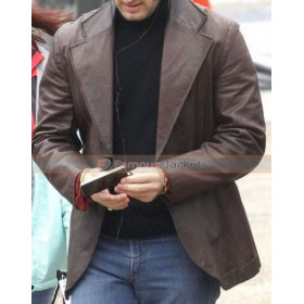 Michael Shannon Elvis & Nixon Leather Jacket
