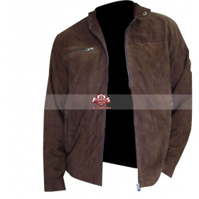 Tom Cruise Mission Impossible 3 (Ethan Hunt) Suede Jacket