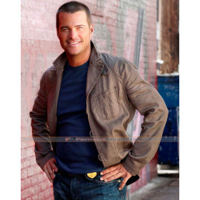 NCIS Los Angeles Chris O'Donnell (G Callen) Brown Jacket