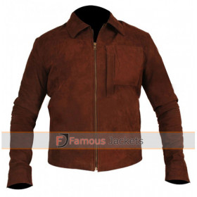 Oblivion Tom Cruise (Jack Harper) Suede Leather Jacket