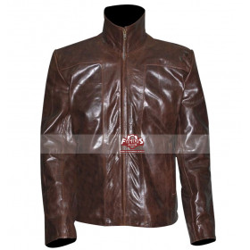 Freddy Rodriguez (Wray) Planet Terror Brown Distressed Jacket
