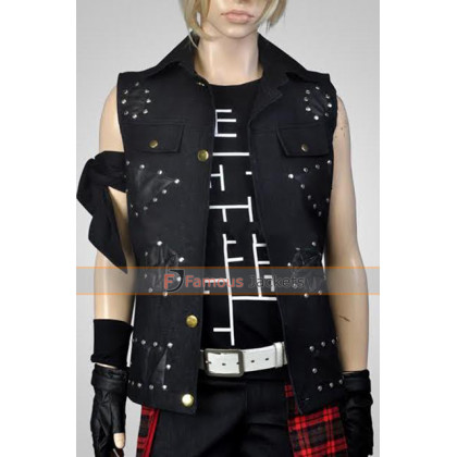 Driven Plot Final Fantasy 15 Black Vest