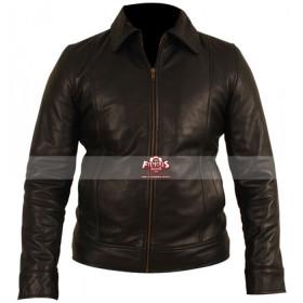 Red 2 Bruce Willis (Frank Moses) Black Leather Jacket