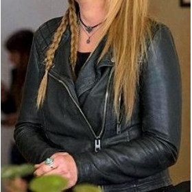 Ricki and the Flash Meryl Streep Black Leather Jacket