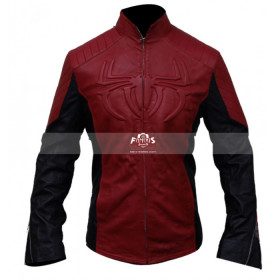 Red and Black Spiderman Cosplay Costume Jacket