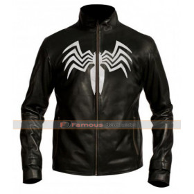 Spiderman 3 Venom / Eddie Brock Leather Jacket