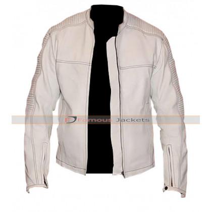 Star Wars Stormtrooper White Leather Jacket