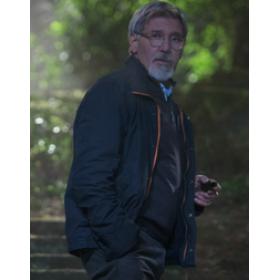 The Age of Adaline Harrison Ford (William Jones) Black Jacket