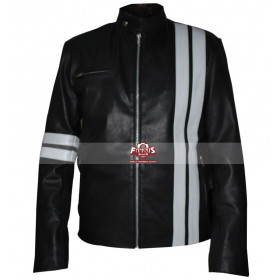 The Driver San Francisco John Tanner White Stripes Jacket