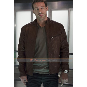 Hawkman Flash S2 Carter Hall Leather Jacket