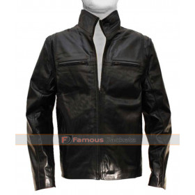 Detective The Other Guys Mark Wahlberg Leather Jacket