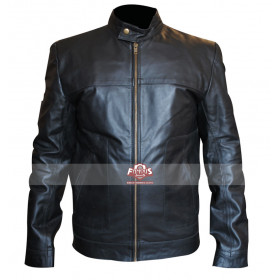 This Means War Tom Hardy (Tuck Henson) Black Leather Jacket