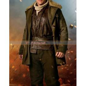 Steve Trevor Wonder Woman Fur Coat