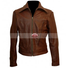 X-Men Days Of Future Past Wolverine Hugh Jackman Brown Jacket