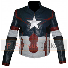 Avengers Age Of Ultron Captain America Jacket Costume