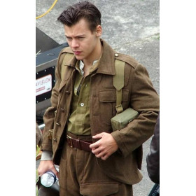Dunkirk Harry Styles (Alex) Brown Jacket