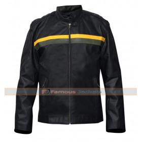 Bates Motel Dylan Massett Motorcycle Leather Jacket