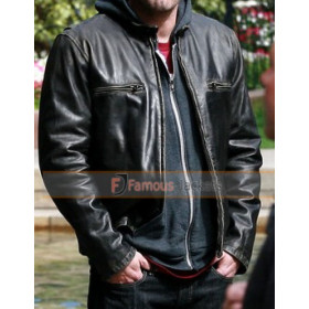 Ben Affleck The Town Doug MacRay Black Leather Jacket