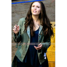 Captain America Civil War Wanda Maximoff (Elizabeth Olsen) Jacket