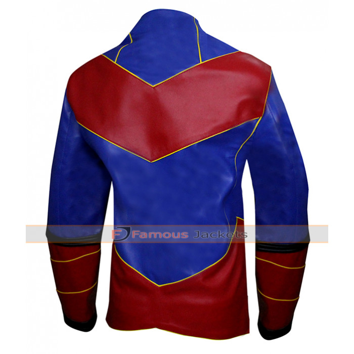 Henry Danger Captain Man Leather Jacket